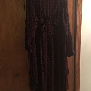 Torrid Sz 4.  Long Sheer Blouse